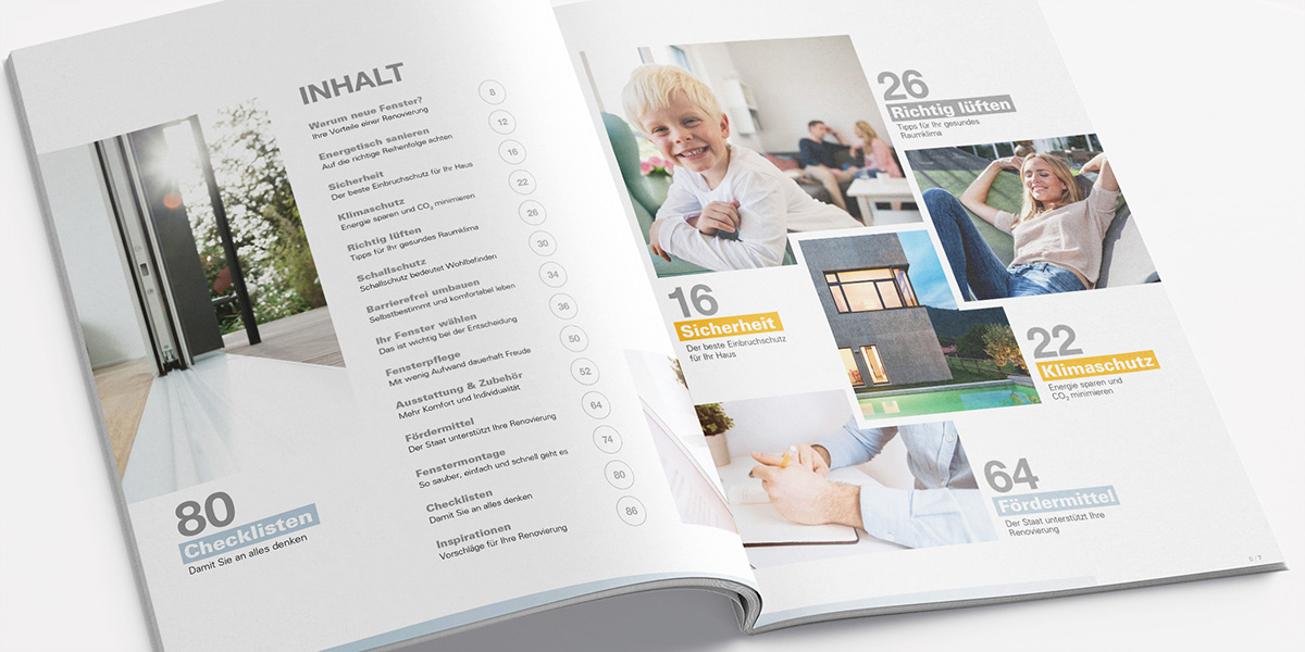 Renovierungsratgeber: 91 Seiten Infos, Inspiration, Checklisten.